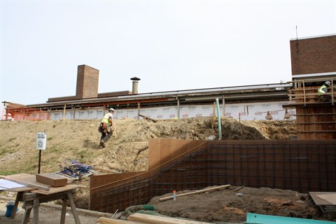 Update: Construction Continues at BHS