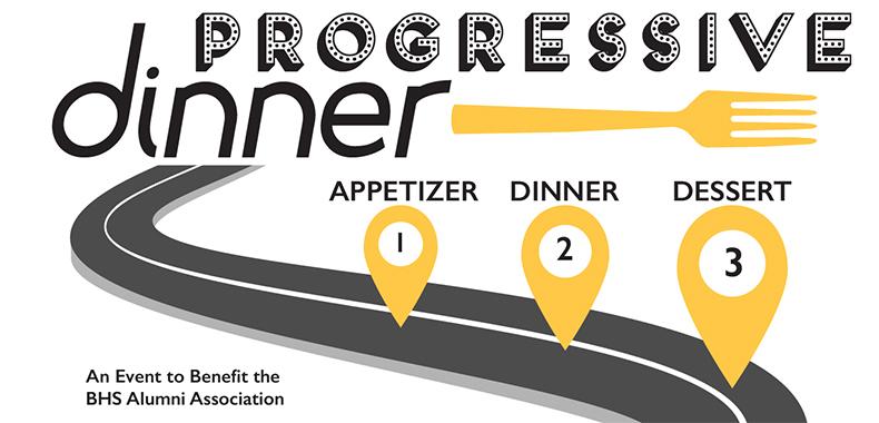 Progressive Dinner Event