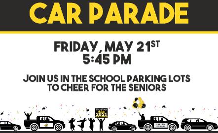 2021 Senior Car Parade