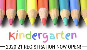 Kindergarten Registration Opens!