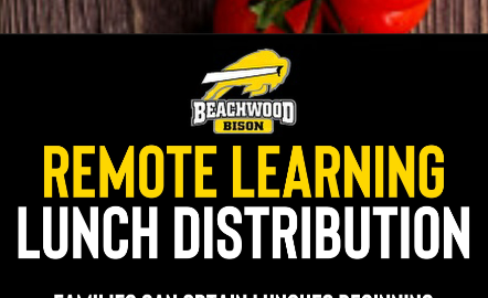 Remote Learning Lunch Schedule