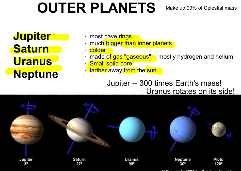 another word for outer planets-#7