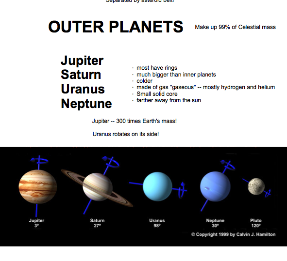outer planets and their characteristic - photo #35