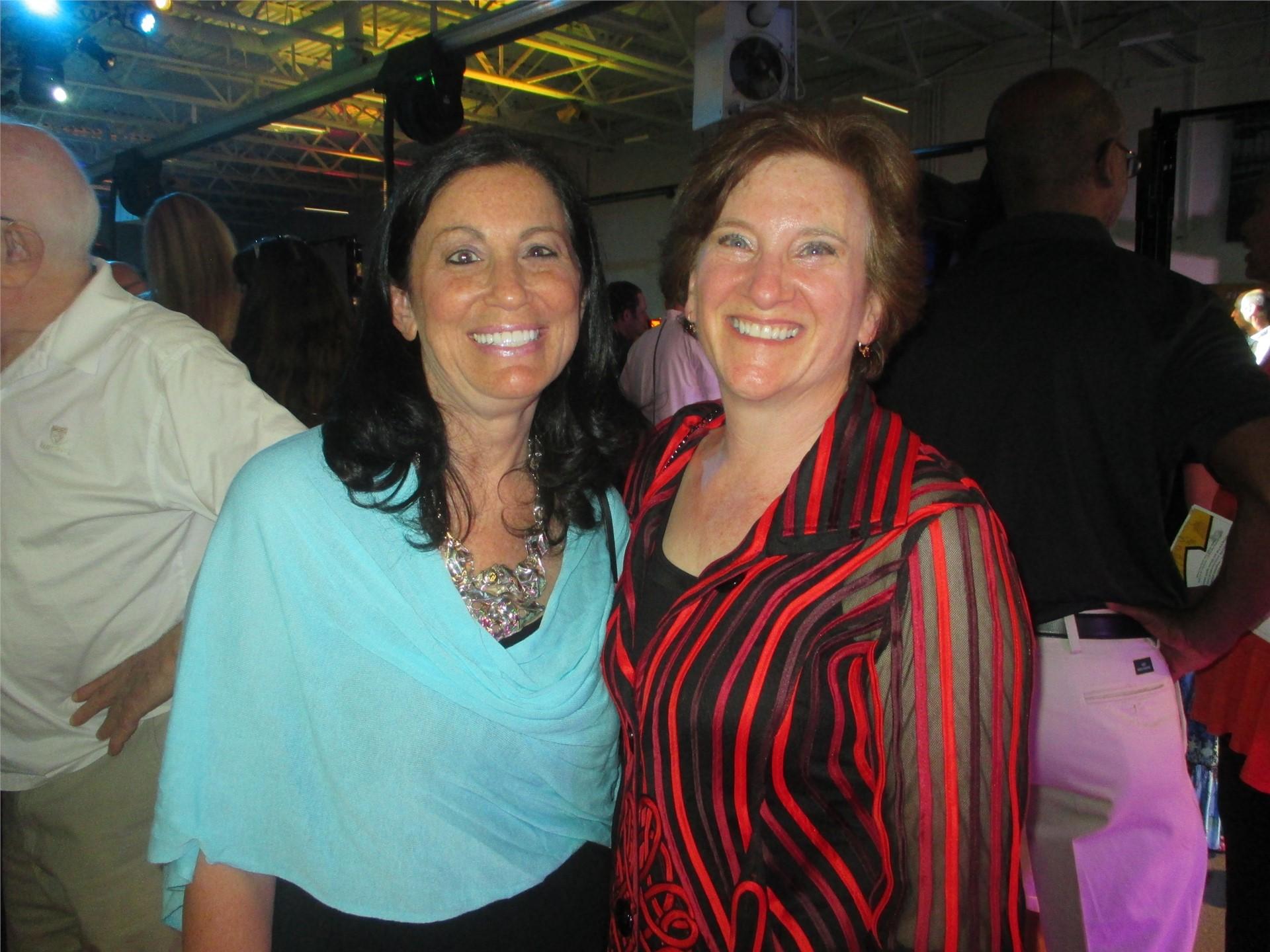 Barb Janovitz and Erica Remer