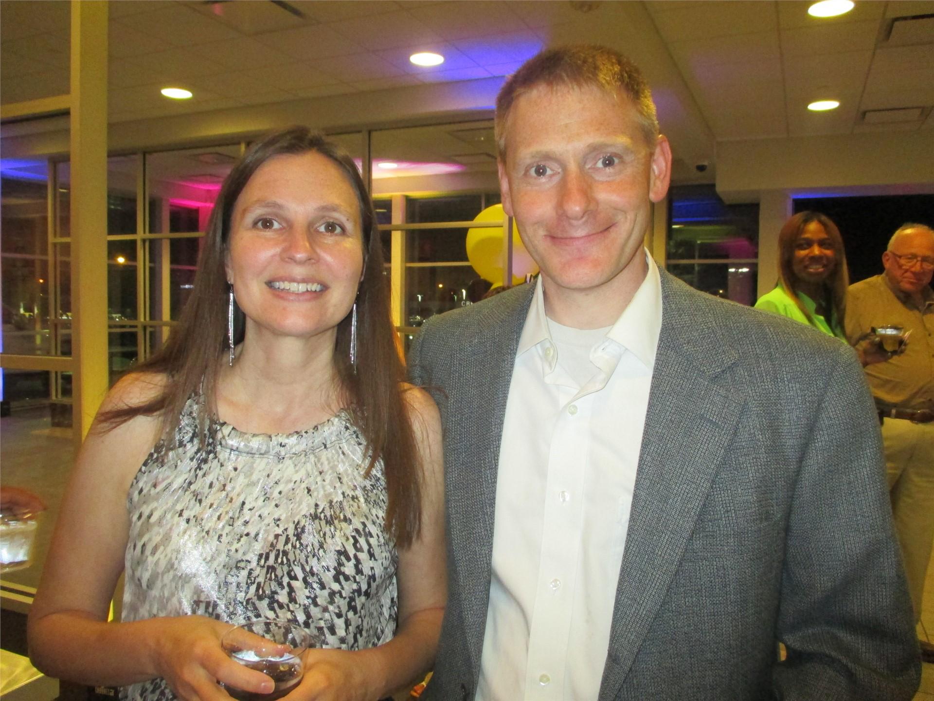 Michelle and Jon Leizman