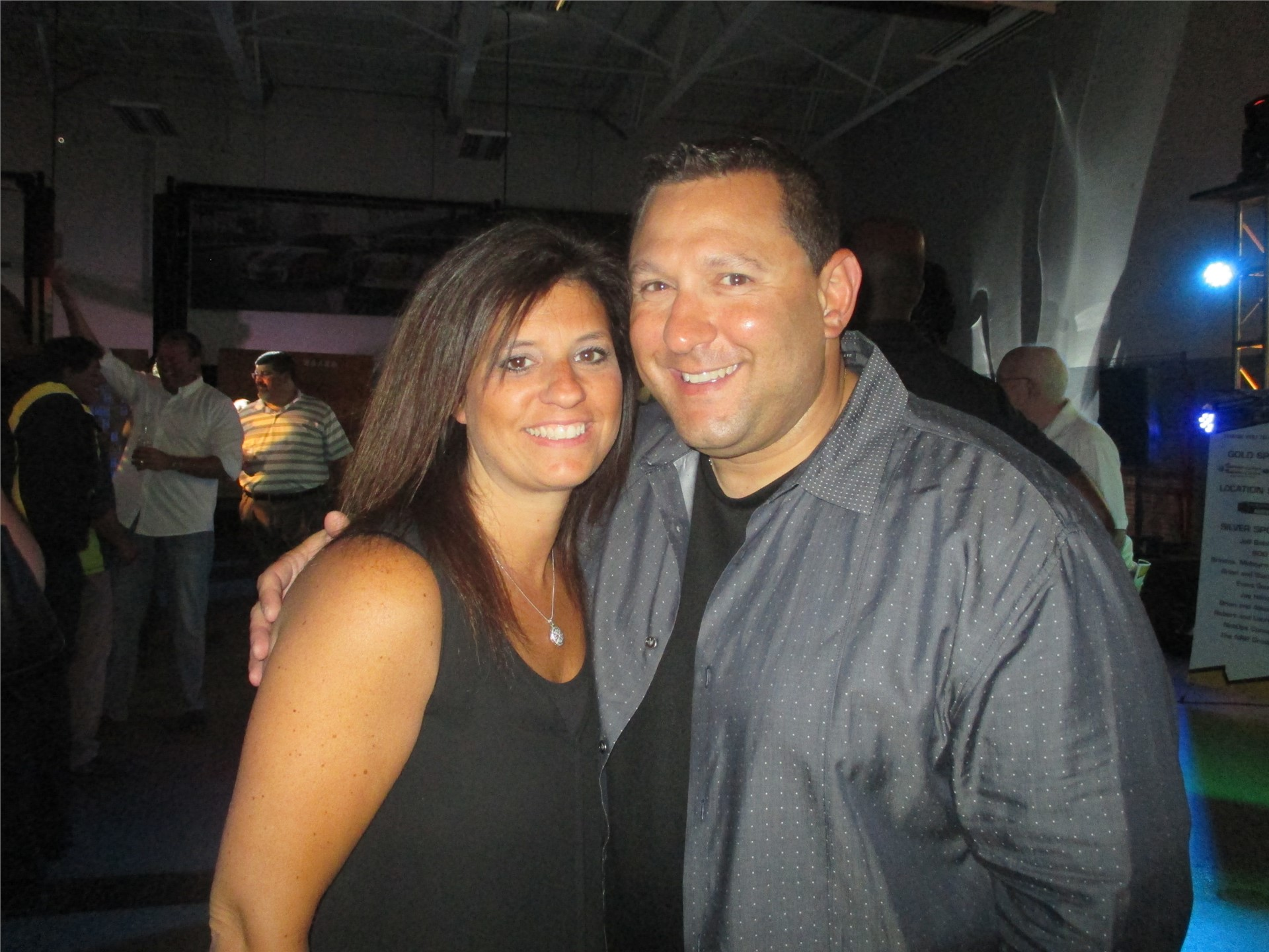 Athletic Director Ryan Peters and wife, Alyse