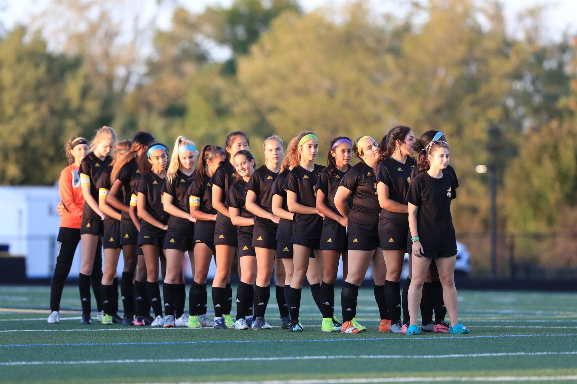 Ladies soccer team